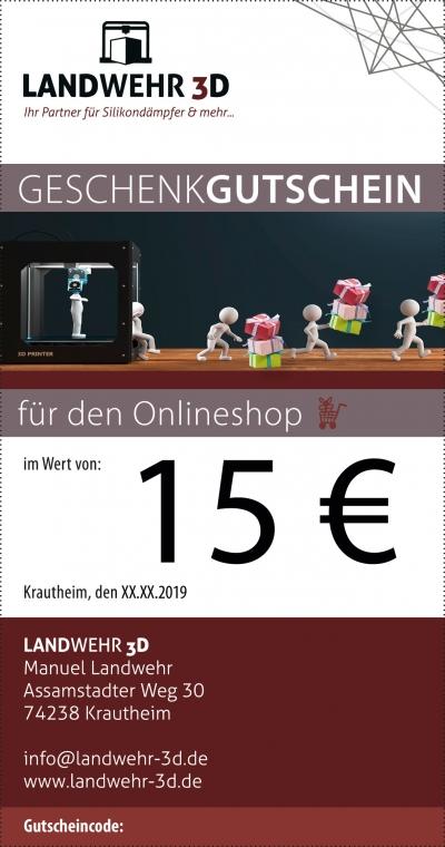Gutschein 15€